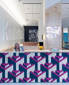 showroom of office furniture manufacturer Kimball Office located in Chicago, Illinois.