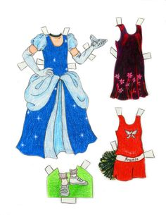 Alexandra page 4 printable paper doll paperdolls*1500 free paper dolls for Christmas at artist Arielle Gabriels The International Paper Doll Society and also free Asian paper dolls at The China Adventures of Arielle Gabriel *