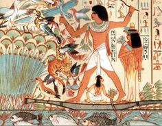 An poster sized print, approx (other products available) - Vintage engraving of Ancient egyptians hunting birds - Image supplied by Fine Art Storehouse - Poster printed in the USA Hyde Park, Ancient Egyptian Art, Egyptian Mythology, Egyptian Goddess, Ancient Aliens, Ancient Greece, Fine Art Prints, Canvas Prints, Tile Murals