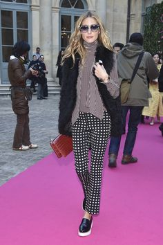Olivia Palermo at Paris Haute Couture Fashion Week Spring 16 | POPSUGAR Fashion