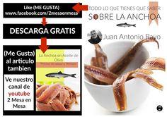 De Mesa En Mesa Revista Gastronomica: Como preparar las Anchoas.  Por Juan Antonio Rayo....