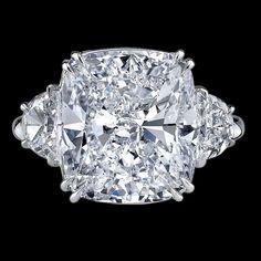 Rings | Cushion Cut Diamond Ring | Bigham Jewelers, Naples Florida Jewelers