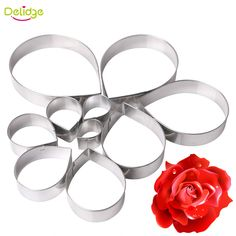 See related links to what you are looking for. Number Cookie Cutters, Cookie Cutter Set, Baking And Pastry, Cake Baking, Tool Cake, Flower Cookies, Cake Decorating Tools, Shaped Cookie, Diy Molding