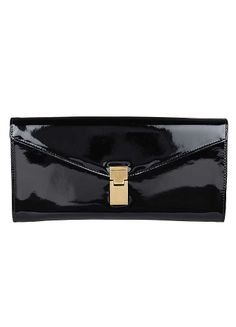 Patent Clutch Bag