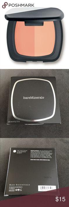 *Brand New* Bare Escentuals Luminizer Duo *Brand New in Box* Bare Escentuals Luminizer Duo 'The Love Affair & The Shining Moment.' Bare Escentuals Makeup Luminizer