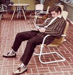 Elvis June 14, 1956 at Audubon drive
