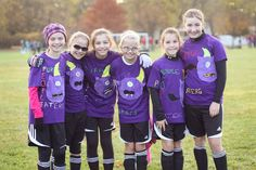 for a soccer tournament get your team mates together and make some cute team halloween costumes