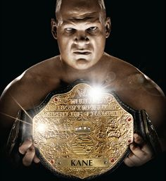 kane the world heavyweight champion smackdown nickname the big red ...
