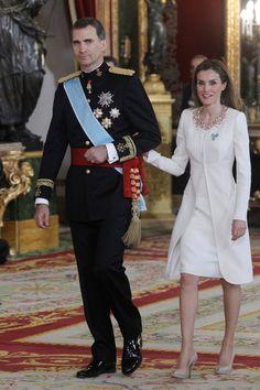 Queen Letizia of Spain Photos: The Coronation of King Felipe VI and Queen Letizia