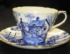 Shelley Eminent Devon Cambridge simplyTclub Tea cup and saucer
