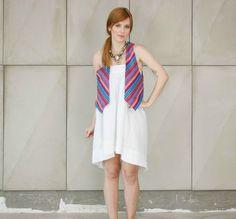Colete feminino de jacquard colorido da marca Coleteria ♡ - Coletes exclusivos | feminino e infantil | Coleteria ♡