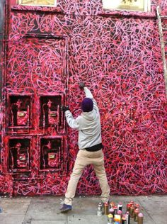 Rafael Sliks transforma a cidade através do seu caos colorido http://followthecolours.com.br/art-attack/rafael-sliks-transforma-a-cidade-atraves-do-seu-caos-colorido/