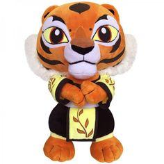 Kung Fu Panda Tigress plush toys for kids tiger pillow doll