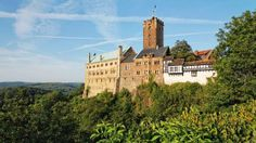 Erfurt - Wartburg Castle, where Martin Luther translated the Bible