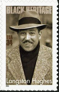 There can be no Celebration of Black History, the Harlem Renaissance or the global literary world without the mention of James Mercer Langston Hughes. He was honor by the Postal Service in 20002 with his very own stamp during Black Heritage Month. Black History Facts, Black History Month, Langston Hughes, Writers And Poets, African American History, American Women, Native American, American Art, Harlem Renaissance