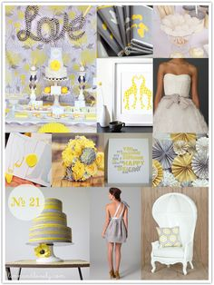 Mood Board No. 21: Pebble + Primrose | Limn & Lovely | Daily Loveliness for Every Bride