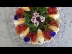 Lohi Cheesecake koristelu | Salmon Cheesecake decoration