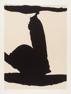 Africa – a wonderful series of screen prints by Robert Motherwell