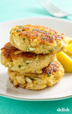 Marylanders will be OBSESSED with this crispy Crab Cakes.Even Marylanders will be OBSESSED with this crispy Crab Cakes. Crab Cake Recipes, Fish Recipes, Seafood Recipes, Gourmet Recipes, Cooking Recipes, Seafood Appetizers, Crab Cakes Recipe Best, Gourmet Foods, Healthy Recipes