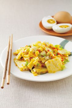 Stir-fried Bamboo Shoot with Salted Egg | Taiwanese cuisine  #recipe in Chinese