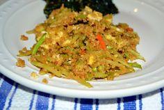 fried couscous