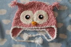 Crochet owl hat - aunt Lindsay? Aunt Mary? Melissa? @lindsay l @mary parker