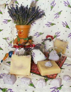 Lavendel Seife Levendulás szappan