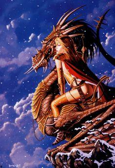 Sexy Fantasy Art of Dorian Cleavenger