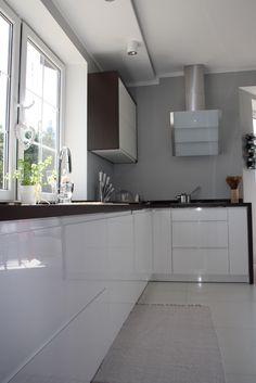 Wnętrza, SALON i KUCHNIA udomowione ;) - Salon + kuchnia nareszcie mogę Wam pokazać jak nabierają kształtów. Zapraszam do oglądania i komentowania.