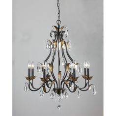 Found it at Wayfair - Juno 8 Light Candle Chandelier