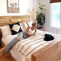 Boho Chic Bedroom, Boho Room, Modern Boho Master Bedroom, Tribal Bedroom, Boho Bedding, My New Room, Queen, Bedroom Ideas, Fall Bedroom Decor