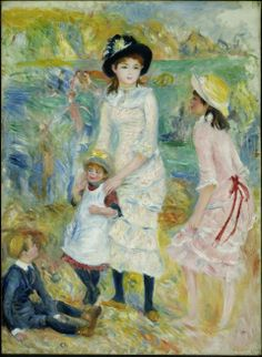Pierre-Auguste Renoir, Children on the Seashore, Guernsey, about 1883.