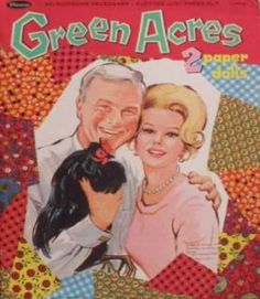 Vintage Green Acres Paper Dolls
