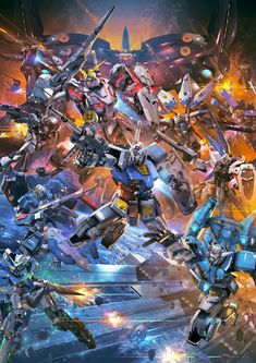 145 Best Gundam And Other Mechas Images In 2018 Highlight