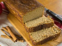 Did you know Silk® has a ton of tasty recipes, like this one for Cinnamon Cashew Bread. Cashew milk is a great sub for milk in almost any recipe. Free Paleo Recipes, Milk Recipes, Whole Food Recipes, Dinner Recipes, Healthy Desserts, Just Desserts, Healthy Food, Fried Dough Recipes, Desserts Sains