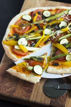 Simple Pizza Dough | Preprosto testo za pico | Dear Kitchen!
