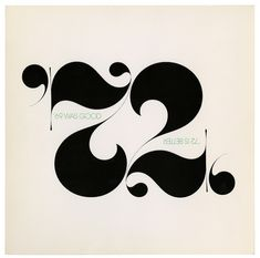 "departmentd: "" Herb Lubalin and Tom Carnase, 1971. Via Flat File """