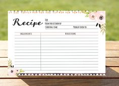 hey i found this really awesome etsy listing at httpswww bridal shower recipe