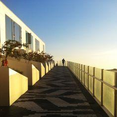 The 8House terrace lane.