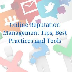 Here's everything you need to manage your #onlinereputation.