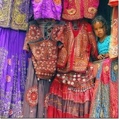Kathmandu, Nepal - oh the fabrics. stunning.