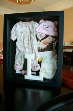 Newborn Shadow Box Ideas For Keeping The Memories!!