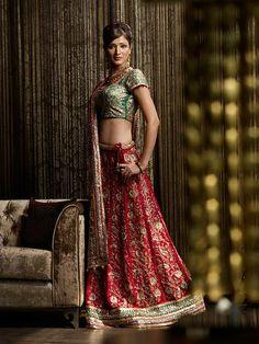 Shyamal & Bhumika Bridal Sari