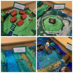 Groep 6 van t Startblok Cuijk maakt maquettes van terpen & dijken. Zij verbeelden wat zij leerden tijdens jeelo-project 'Beleven v onze planeet' . Holland, School, Water, Projects, Europe, Planets, The Nederlands, Water Water, Log Projects