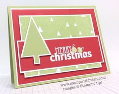 Christmas Bliss, Stampin' Up!, Brian King, MM136