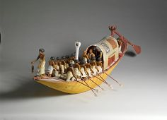 Travelling Boat being Rowed | Middle Kingdom | The Met