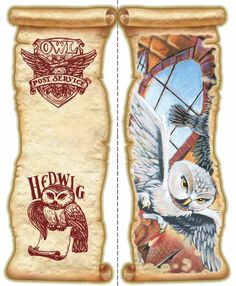 more at link - My Owl Barn: Free Harry Potter and Hedwig the Owl Bookmarks