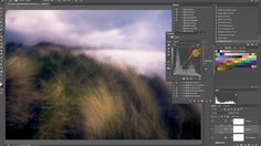 A demonstration of the Sleeklens Landscape plugin set in Photoshop CC - available from sleeklens.com