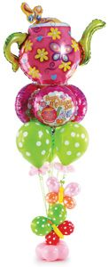 """This balloon bouquet says """"It's your day to relax, mom!"""" (from the Balloons Everywhere Idea Kitchen)"""