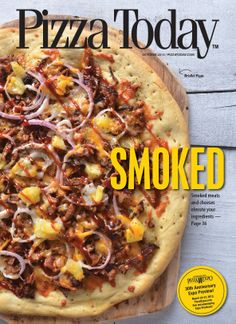 October 2013: Styled by Mandy Wolf Detwiler and photographed by Josh Keown.  Cover story: Smoked meats add a +1 to your toppings. Why use traditional meats when you can smoke it?  See the full issue here: http://www.pizzatoday.com/magazines/october-2013/